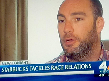 Ryan Berger - NBC News Interview: Starbucks Race Relations Social Campaign.